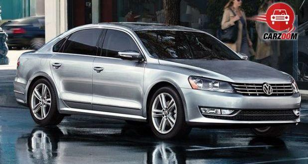 Auto Expo 2014 Volkswagen New Passat Exteriors Overall
