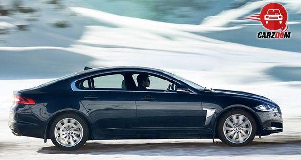 Jaguar XF Exteriors Side View