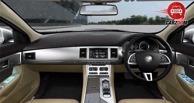 Jaguar XF Interiors Dashboard