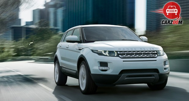 Land Rover Range Rover Evoque Exteriors Front View