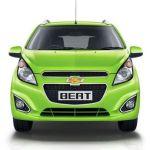 Auto Expo 2014 Chevrolet Beat facelift Exteriors Front View