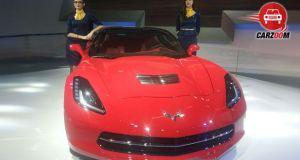 Auto Expo 2014 Chevrolet Corvette Coupe Exteriors Overall
