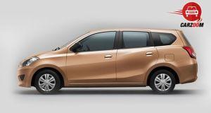 Auto Expo 2014 Datsun GO Plus Exteriors Side View
