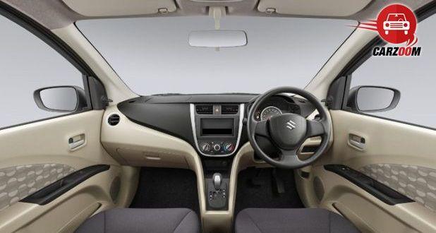 Auto Expo 2014 Maruti Suzuki Celerio Interiors Dashboard