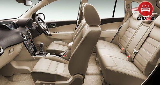 Auto Expo 2014 New Renault Koleos Interiors Seats