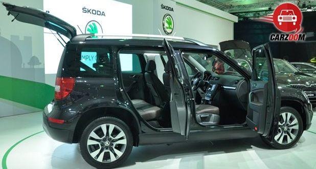 Auto Expo 2014 New Skoda Yeti Exteriors Side View