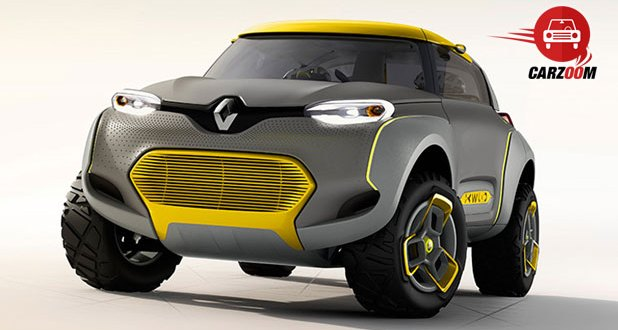 Auto Expo 2014 Renault KWID concept Exteriors Front View