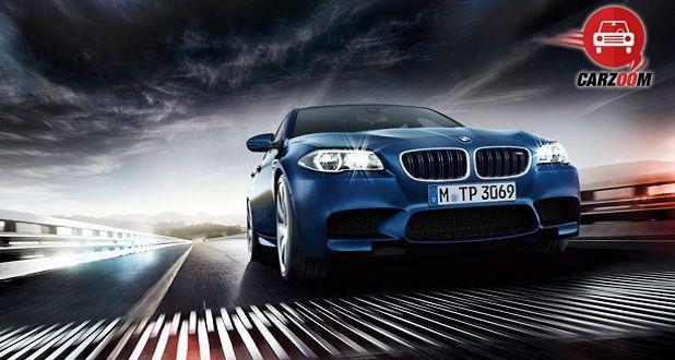 BMW M5 Exteriors Front View