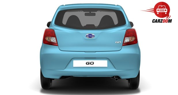 Datsun Go Exteriors Rear view