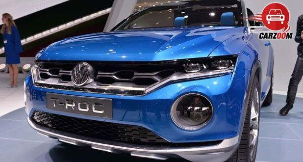 Geneva International Motor Show 2014 - VOLKSWAGEN T-Roc Exteriors Front View