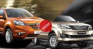Renault Koleos vs Toyota Fortuner