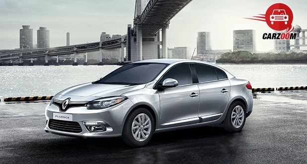 Renault Fluence Facelift Exteriors Top View