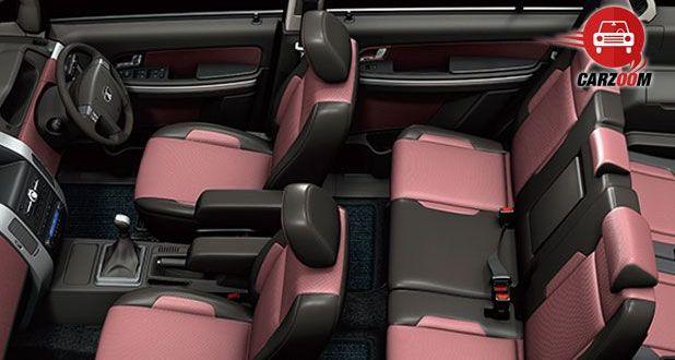 Tata Aria Seats