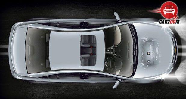 Chevrolet Cruze Exteriors Top View