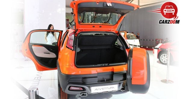 Fiat Avventura Interiors Bootspace
