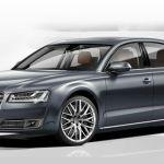 New Audi A8 L