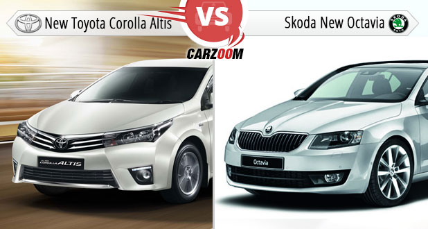 New Toyota Corolla Altis Vs Skoda New Octavia