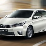 New Toyota Corolla Altis side View