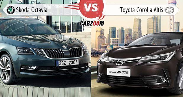 new corolla altis vs skoda octavia harga all vellfire 2018 compare toyota price specifications pros and cons