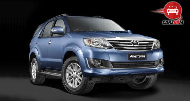 Toyota Fortuner Exteriors Overall