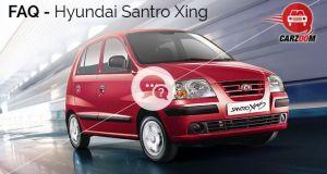Hyundai Santro Xing FAQ