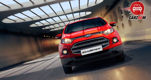 Ford EcoSport Exteriors Front View