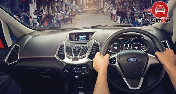Ford EcoSport Interiors Dashboard