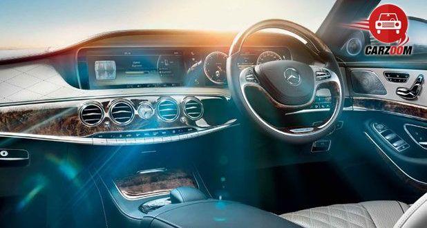 Mercedes Benz Interiors Dashboard