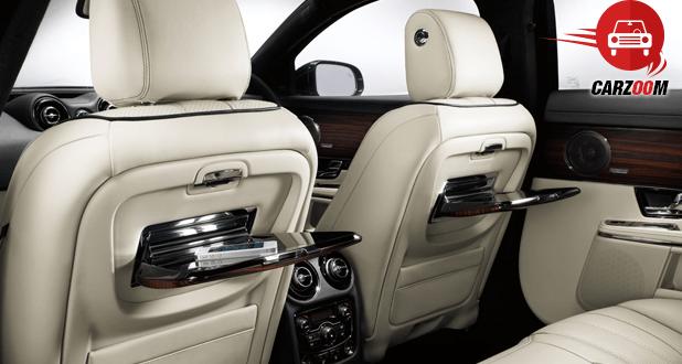 Jaguar XJ Interiors Living Space