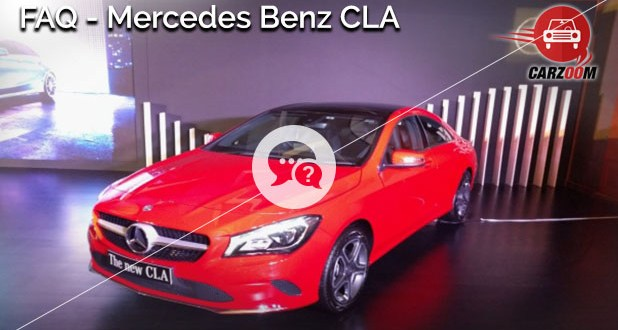 Mercedes Benz CLA FAQ