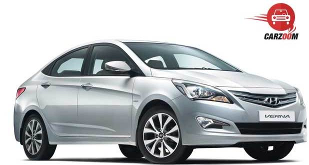 New 4S Fluidic Hyundai Verna Exteriors Side and Front View