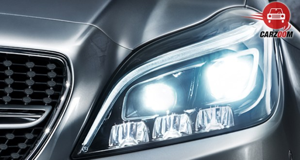 Mercedes-Benz CLS 250 CDI Coupe Headlamps