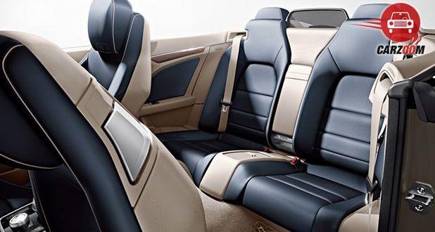 Mercedes-Benz E400 Cabriolet Interiors Seats