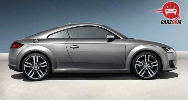 Audi TT Coupe Exteriors Side View
