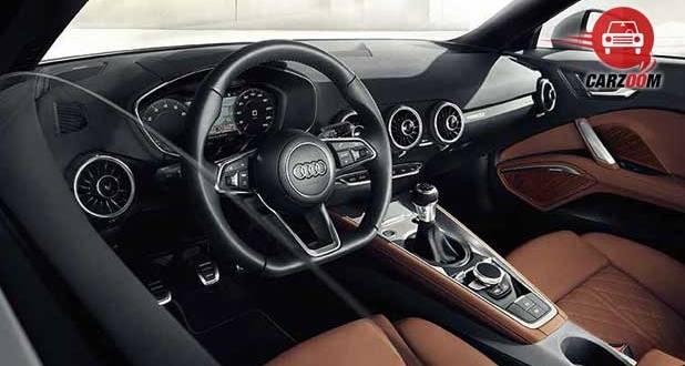 Audi TT Coupe Interiors Dashboard