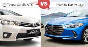 Hyundai Elantra vs New Toyota Corolla Altis