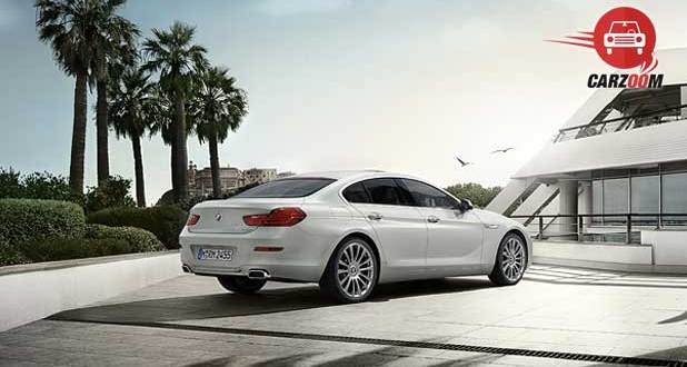 BMW 6 series Gran Coupe Exteriors back