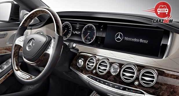 Mercedes Benz S 600 Guard Interiors Dashboard