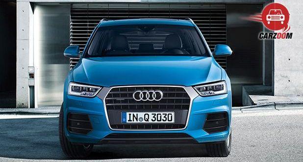 Audi Q3 Facelift Exteriors Front View