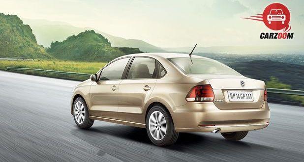 Volkswagen Vento Facelift Exteriors Back View