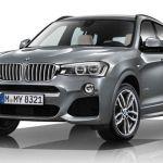 BMW X3 Xdrive30d M sport Exteriors Front