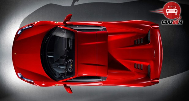 Ferrari 458 Spider Exterior Top View