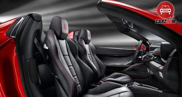 Ferrari 458 Spider Interior Seat View