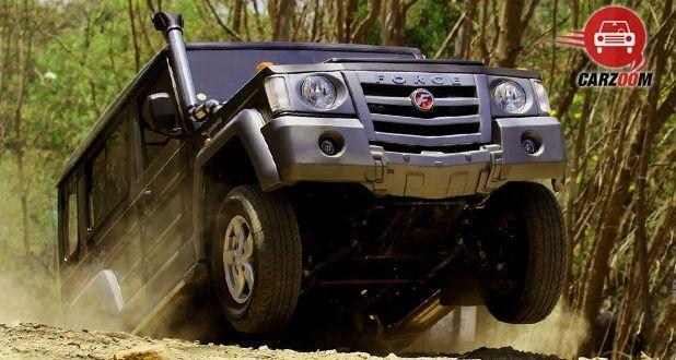 Force Motors Gurkha Bottom Tyre View