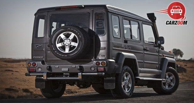 Force Motors Gurkha Hard Top Back View