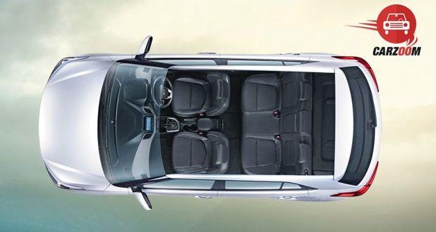 Hyundai Creta Interior Top View