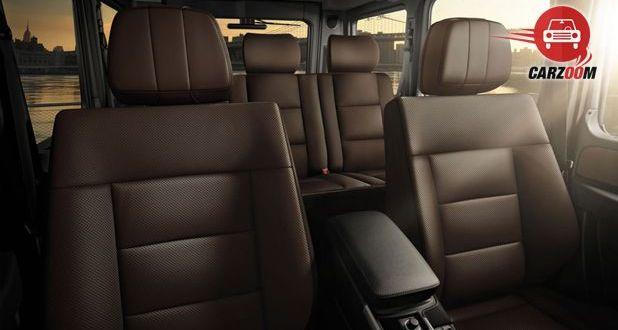 Mercedes Benz G Class G63 AMG Interior Seat View