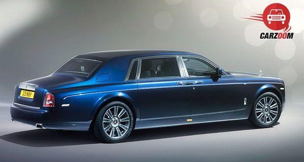 Rolls-Royce Phantom Side and Back View