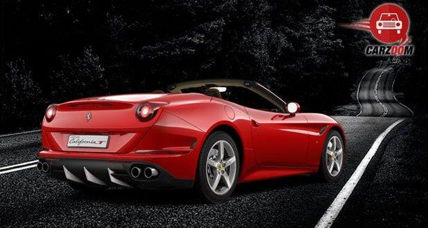 Ferrari California T Exterior Back View