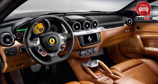 Ferrari California T Interior View